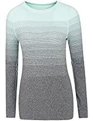 Mountain Warehouse Blizzard Ombre Striped Womens Baselayer Top