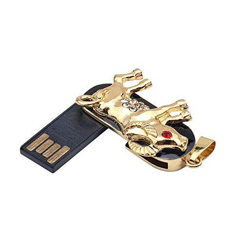 Tonsee 512 MB/1GB/2GB/4GB/8GB/16GB/32GB/64 GB USB 2.0 USB Flash Mode 12 Sternbilder Form Strass Flash Laufwerk Speicher Daumen Stick schieben Home Decor (12-gb-usb-laufwerk)