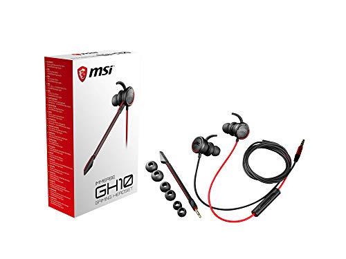 MSI Immerse GH10 - Auriculares con micrófono