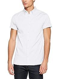 Jack & Jones Premium Jprkevin Shirt S/S, Chemise Casual Homme
