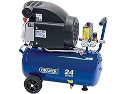 Draper DA25/207 24L 230V 2.0HP Air Compressor 230 V  24 L