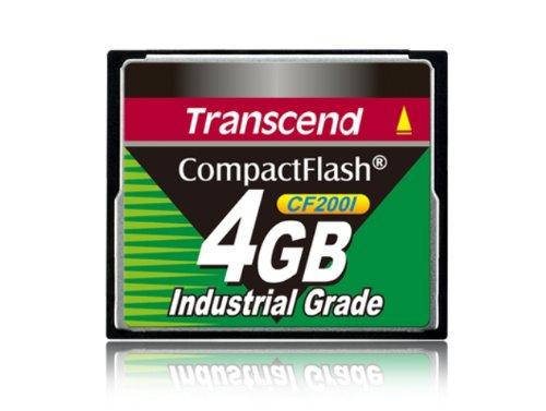 Transcend Industrial Grade CF200I 4GB Compact Flash Speicherkarte