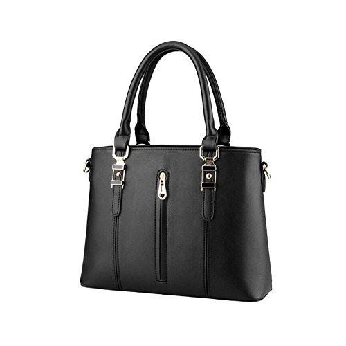 Handtasche Beatayang Damen Schultertasche Schwarz Elegant CxRvq