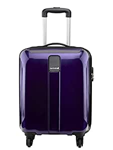 Safari Thorium Polycarbonate 55 cms Purple Hardsided Carry On (Thorium-Sharp-Purple-55-4WH)