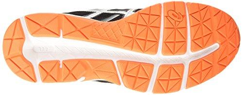 Asics Gel-Contend 3, Chaussures de Running Compétition Homme Noir (black/silver/hot orange 9093)