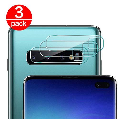 Coqin Vetro Temperato per Lente Fotocamera Samsung Galaxy S10 Plus Pellicola Protettiva Ultra Sottile 2.5D 9H Anti graffio Durezza Protettore Film