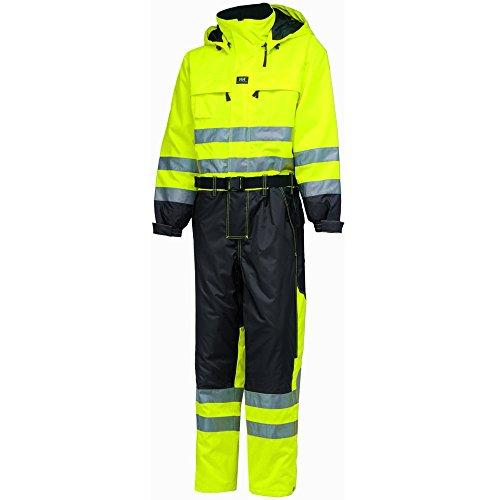 Helly Hansen Overall Ludvika Suit 71676HellyTech LeiKaTex cappello alta visibilità impermeabile, 34-071676-369-38