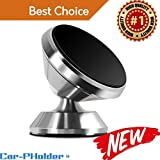 Best AVANTEK Cell Phone Mounts - Car Phone Holder Magnetic Mount Universal 360 Rotation Review