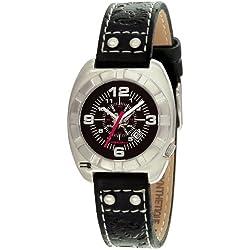 RG512-G50412-603-Zeigt Kinder-Armbanduhr 1076312Analog Leder Schwarz