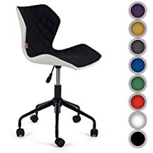 MY SIT Silla de oficina giratoria escritorio taburete altura ajustable cuero sintético sillón diseño silla Nuevo INO