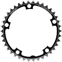 Plato STRONGLIGHT 5 brazo círculo de pernos 130 mm negro-plata 7075 todos los tamaños, kettenblatt zähne:56