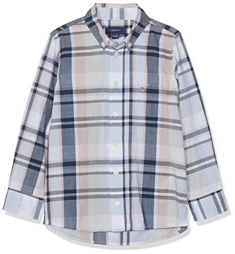 Gant KU. Indigo Plaid B.d. Shirt Blusa