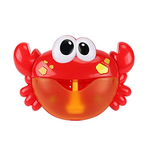 PAIZEP Baby Badespielzeug Bubble Frog & Crab