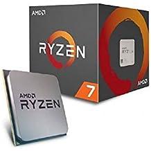 AMD RYZEN 7 1700- Procesador de 3.7 GHz,  Socket AM4  con ventilador Wraith Spire incluido
