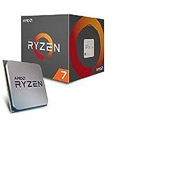 AMD Ryzen 7 1700 65 W 8/16 Core 3 7 GHz 4 MB CPU - Black