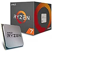 AMD Ryzen 7 1700 - Processeur 3,7 GHz - Socket AM4 - Ventilateur Wraith Spire Inclus