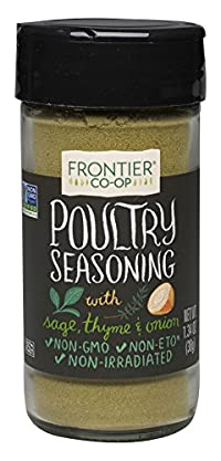 Frontier Herb 1.34 Ounce Poultry Seasoning - Salt Free