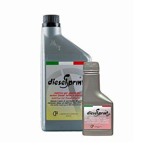 1 Litro DIESELSPRINT + 125 ml DIESELSPRINT PLUS - KIT ADDITIVO MANTENIMENTO PRESTAZIONI Sistemi di alimentazione Dies