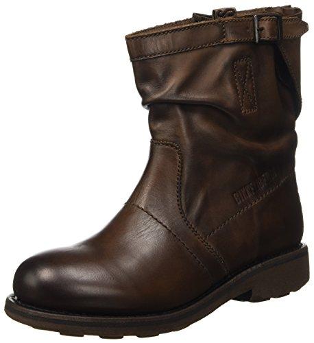 Bikkembergs Vintage 716 L.Boot W Dyed Leat, Scarpe a Collo Alto Donna, Marrone (Tdm), 36 EU