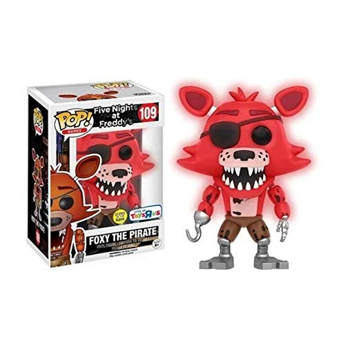 Funko Pop! Five Nights At Freddy's Glows In The Dark Foxy The Pirate Exclusive