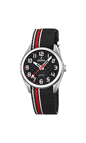 Festina Unisex Analogue Classic Quartz Watch with Textile Strap F16904/3