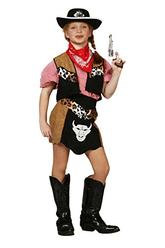 Wilbers 3164 Kinder Cowgirl Kostüm Buffalo 152 (Buffalo Kostüm Für Kinder)
