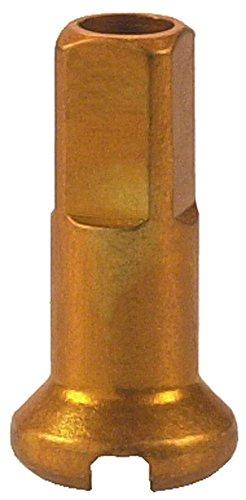 DT Swiss 14g Legierung Nippel Speichen (Box of 100), Unisex, Gold -