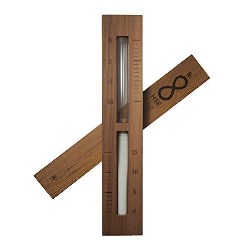 Home-sauna (Home Sauna Experience Hse Cedar Box Sauna Sand Timer 15 Minuten Weiß)