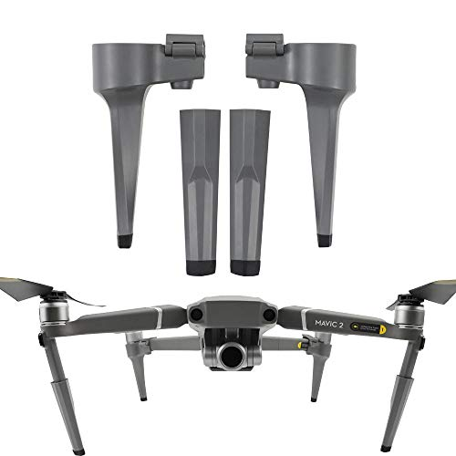 Wokee Landing Gear Fahrwerk Support Protector Verlängert Landegerät für DJI Mavic 2 Pro/Zoom - Bein Rumpf