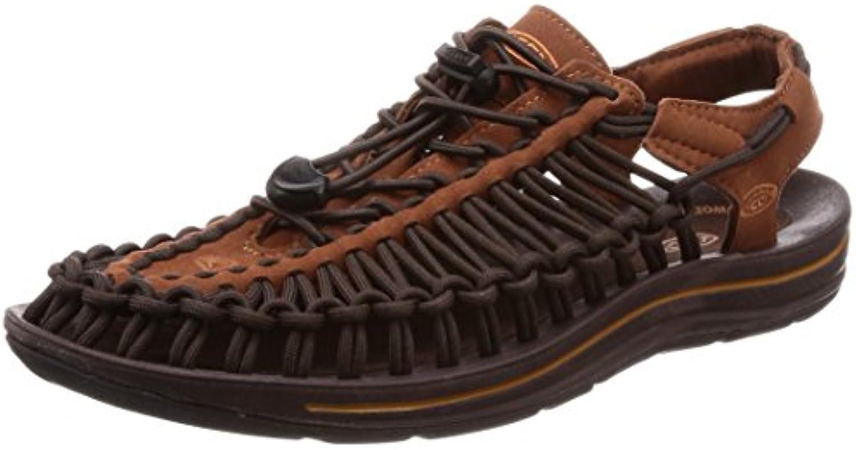 KEEN Uneek Tortoise Shell Adobe Mens Ankle Strap Dimensione 8M   Miglior Prezzo    Scolaro/Signora Scarpa