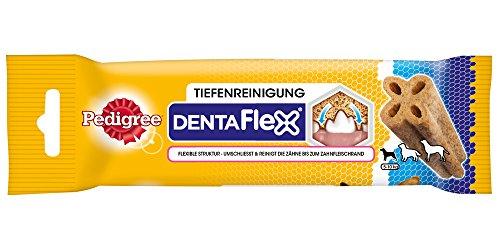 Pedigree DentaFlex Hundesnack für kleine Hunde (5-10kg), Zahnpflege-Snack mit Huhn, 12 Packungen (12 x 40 g) - 4