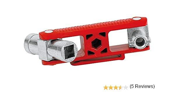 KNIPEX 00 11 06 Cl/é universelle pour toutes les armoires et syst/èmes de fermeture standards 90 mm