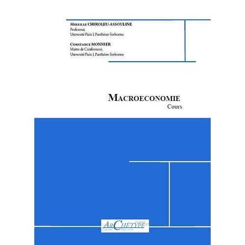 Macroéconomie : 2010-2011, Fascicule 1