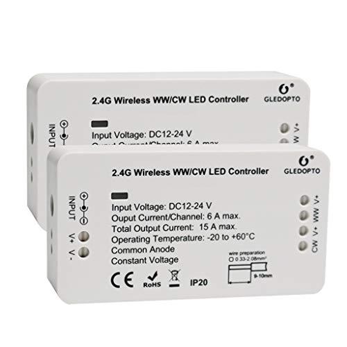 SO-buts Tonlicht mit Controller Wireless Packet LED-Lichtleistenanschluss, Schlafzimmer Wohnzimmer verstellbare Steuerung intelligentes Licht (D) -