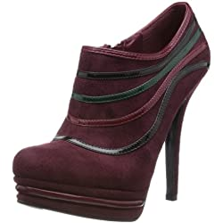 Cobblerz Women's Maroon Pumps and Peeptoes - 4 UK/37 EU
