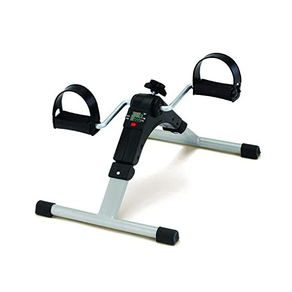Emeret Health and Fitness Mini Pedal Exerciser Foldable Exercise Cycle and Bike (Multicolour)