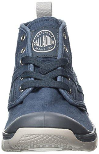 Palladium Herren Pallaville Hi Cvs Kurzschaft Stiefel Grau (Blue)