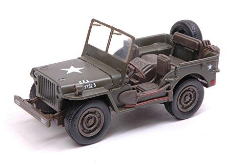 Jeep willys pb military 1:32 - new ray - mezzi militari - die cast - modellino