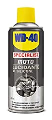 Idea Regalo - WD-40 Specialist Moto - Lucidante al Silicone Spray Moto - 400 ml