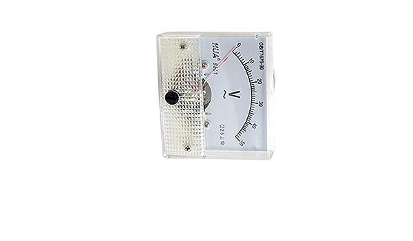 Aexit Genauigkeit DC 0-2A Klasse 2.5 Analog Panel Meter Amperemeter 85C1