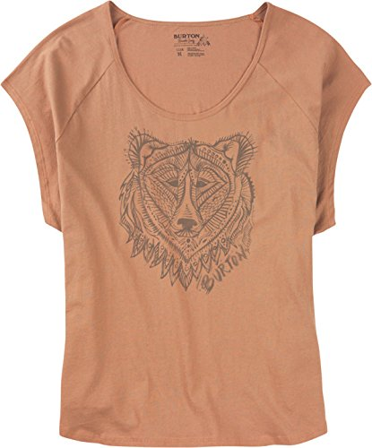 Burton wB dunmore swag t-shirt Orange - Orange clair