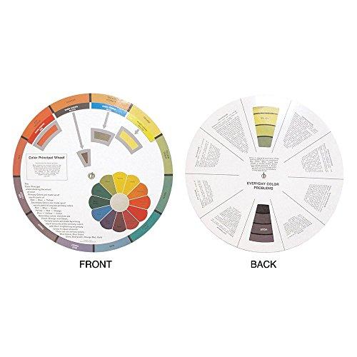 Hair Art Cercle chromatique - Outil éducatif pour apprendre à travailler avec et mélanger les couleurs de cheveux