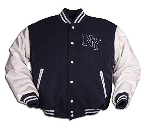vintage-ny-beisbol-chaqueta-multicolor-azul-marino-xl