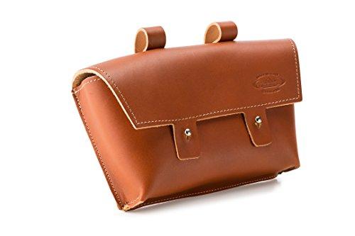Cicli Bonin Monte Grappa Handlebar Leather Brandy Taschen, braun, 22 x 6 x 14 cm