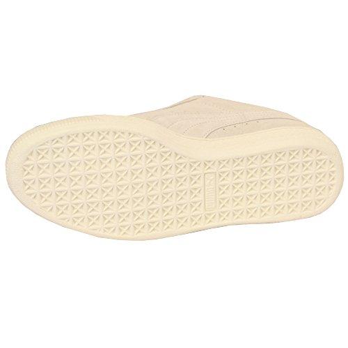 Uomo Puma camoscio con lacci scarpe '35771910' White - PU35771910