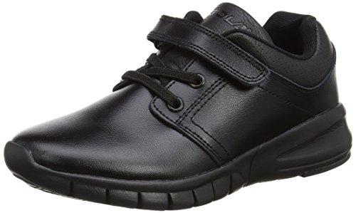 Gola Jungen Jaxon Velcro Sneaker, Schwarz (Black), 28 EU (Gola Schwarz Schuhe)