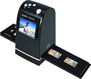 Ion Audio Film 2 SD |Slide and 35mm Photo Film Scanner Converter to SD Card with built in screen and software for Mac & Pc included