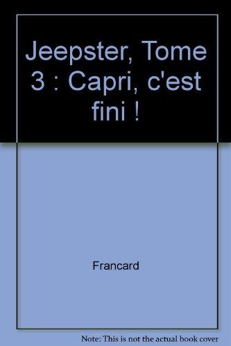 Jeepster, Tome 3 : Capri, c'est fini ! Capri-album