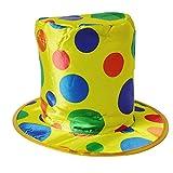 1pcs de Halloween Divertido Colorido del Lunar del Payaso Sombrero Traje Mago Hat para la Etapa