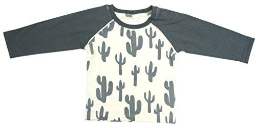 , cremefarbenes Longsleeve mit grauen Cactus. Listing ist nur für Geräte, die an der Oberseite. 100% Baumwolle. Passende Leggings erhältlich.